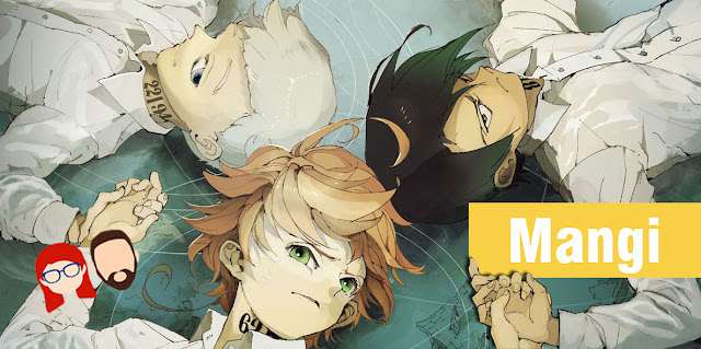 the promised neverland tom 4, waneko, recenzja mangi, shonen