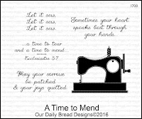 ODBD A Time To Mend