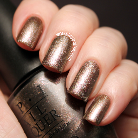 OPI Skyfall Collection: The World is Not Enough (work / play / polish)