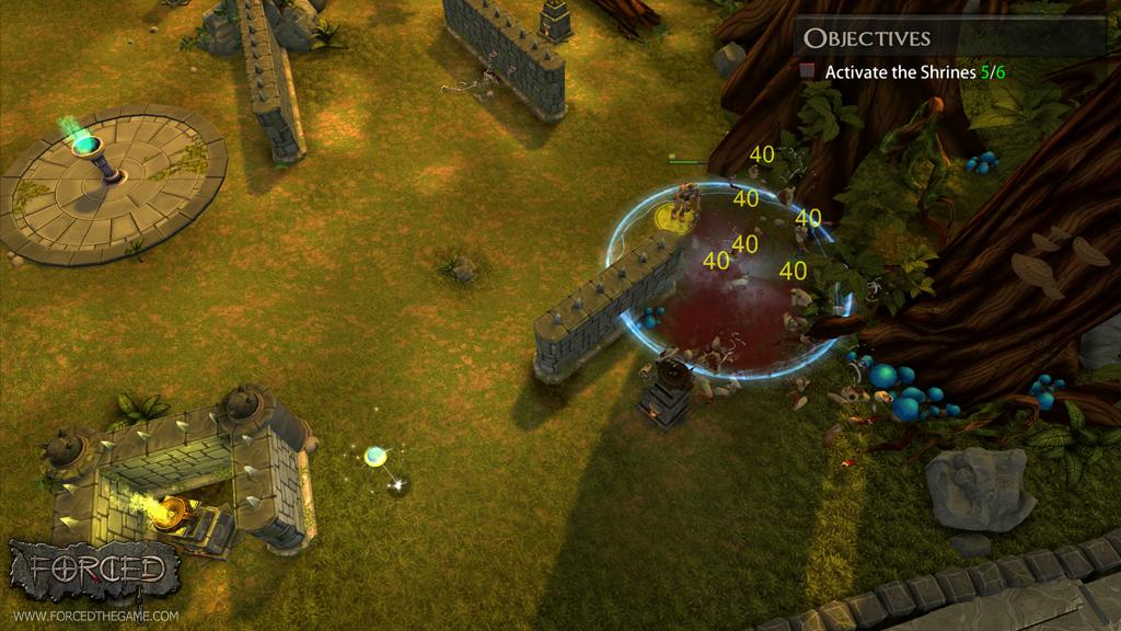 Diablo Meets Left 4 Dead in New Linux Game 'FORCED' ~ Ubuntu