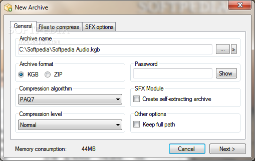 KGB Archiver Full Version Free Download
