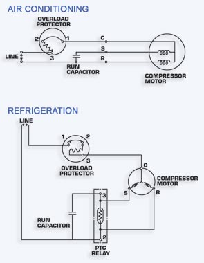 Sdaire Compressor Start Capacitor Wiring Diagram For And