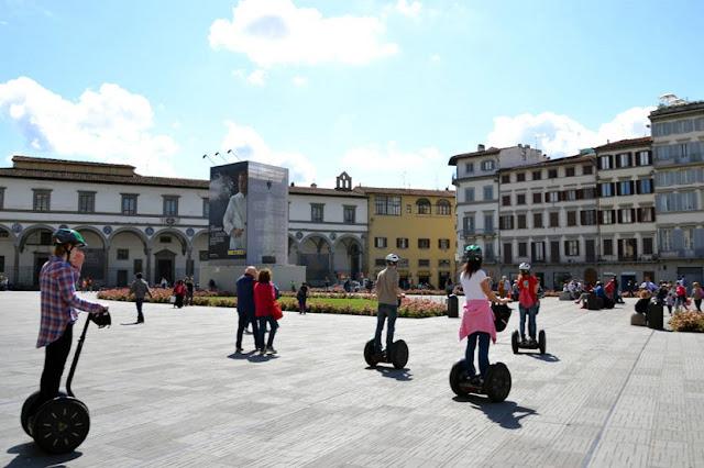 Ingressos para aluguel de Segway em Florença