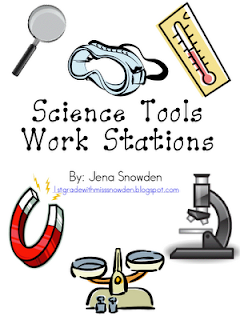 science tools grade 1st stations week classroom scientists pdf freebies teacher equipment third teaching lab safety printables experiments activities activity