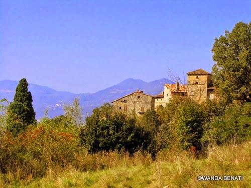 Borgo La Scola, nel'appennino bolognese