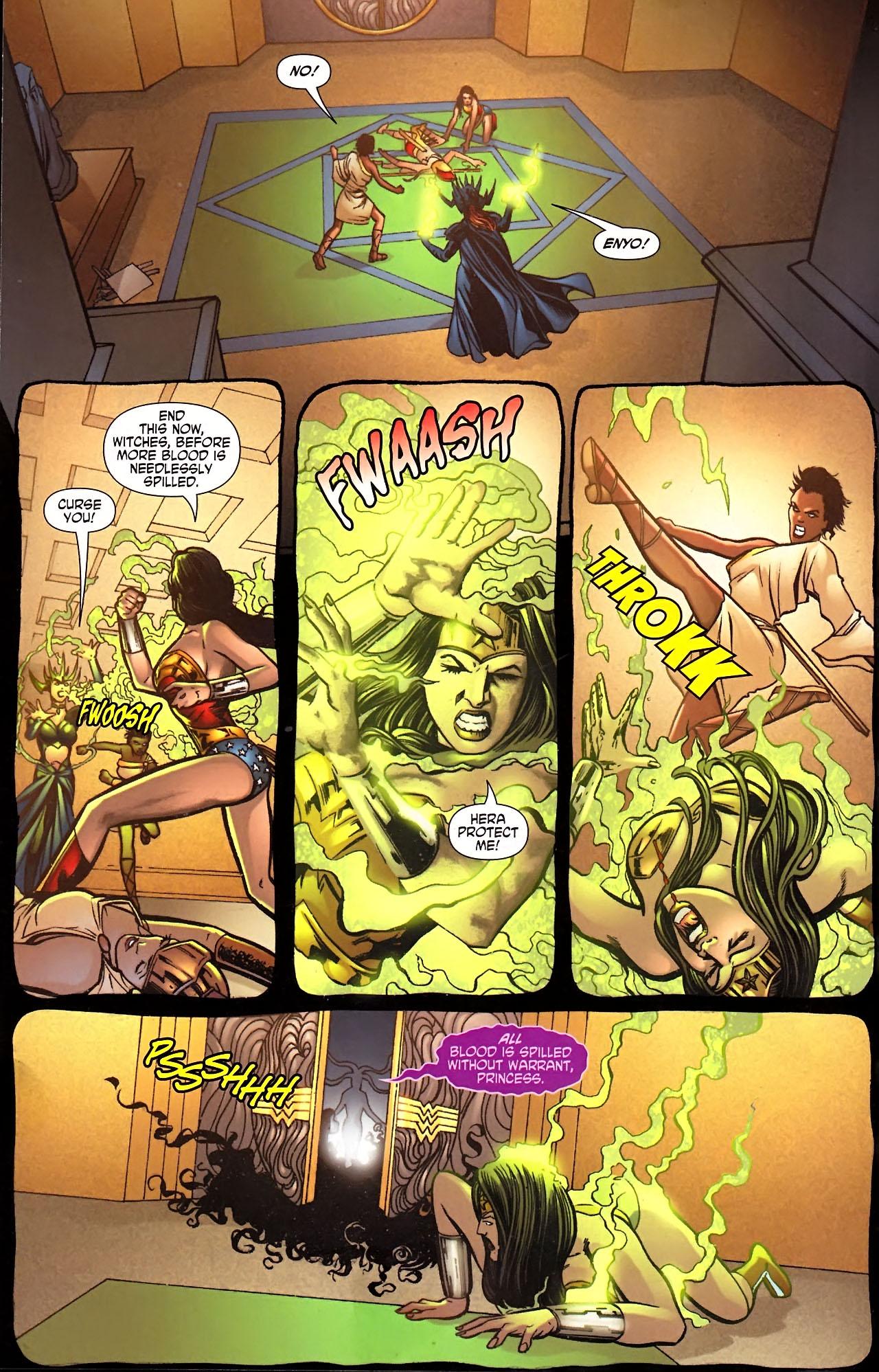 Read online Wonder Woman (2006) comic -  Issue #613 - 9