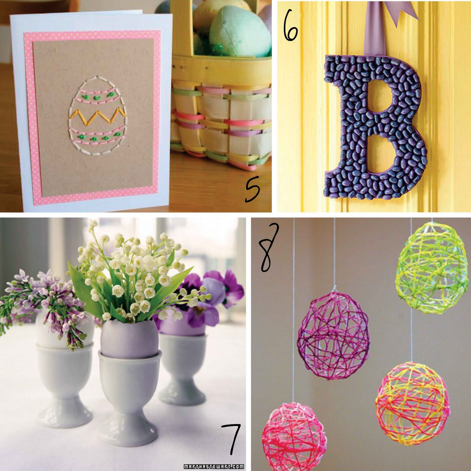 J And L Projects: Martha Stewart Easter Crafts