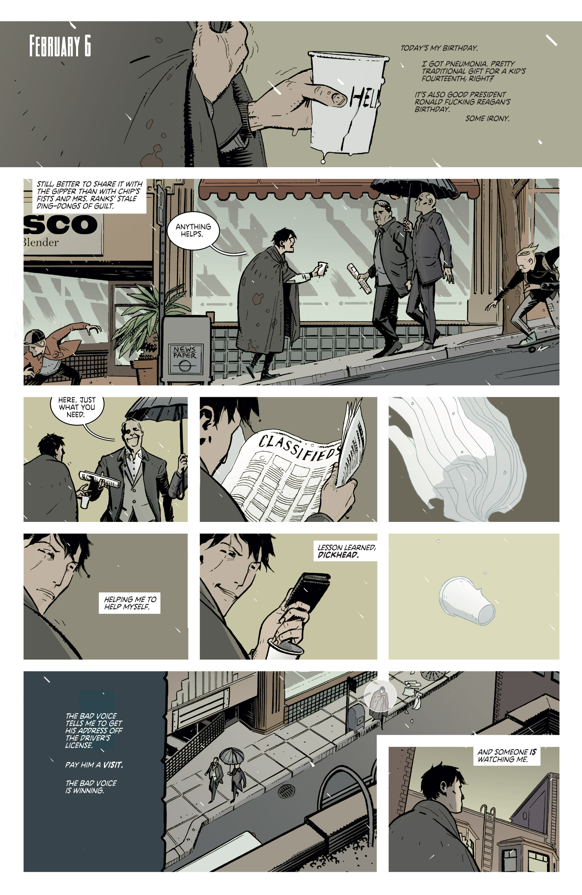 Read online Deadly Class comic -  Issue #1 - 5