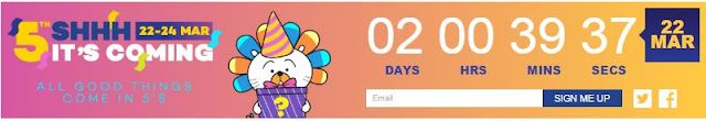 LAZADA 5th Birthday Surprise Sales Mulai 22hb Sehingga 24hb March 2017