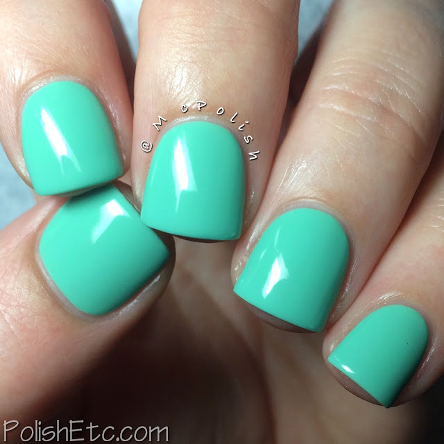 Lisa Nail Lacquer - Spring/Summer 2015 - McPolish - PISTACHIO ICE CREAM
