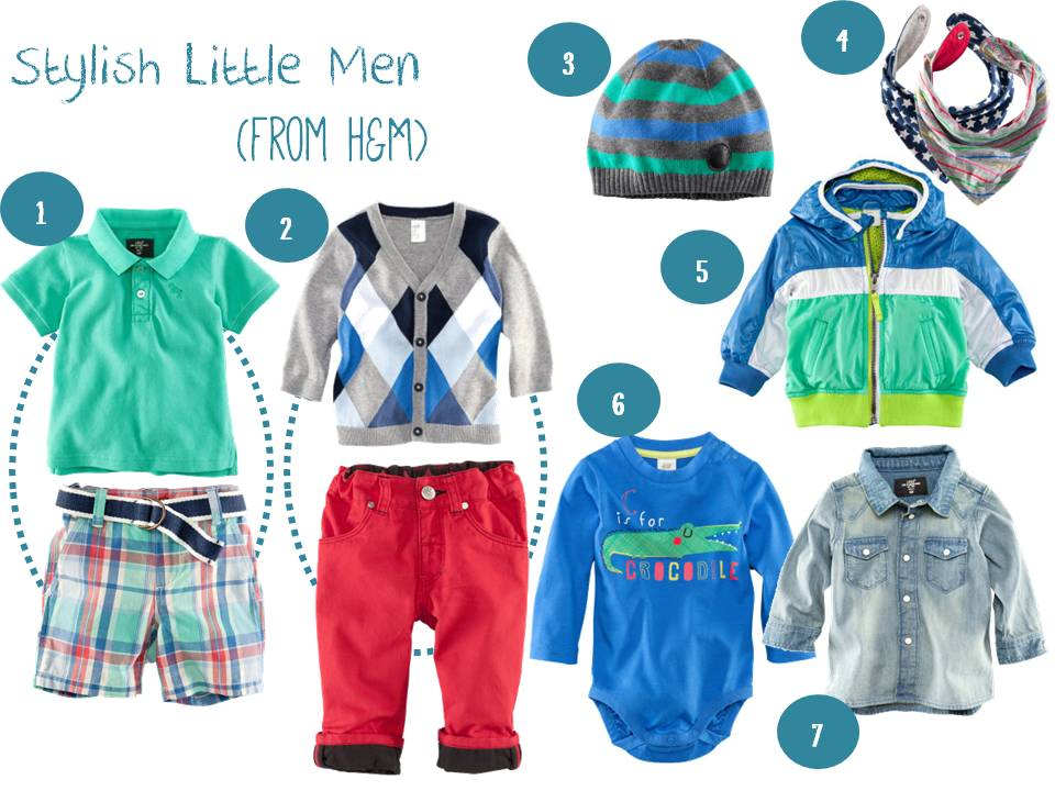 A Series Of Beginnings Stylish Little Men H Amp M