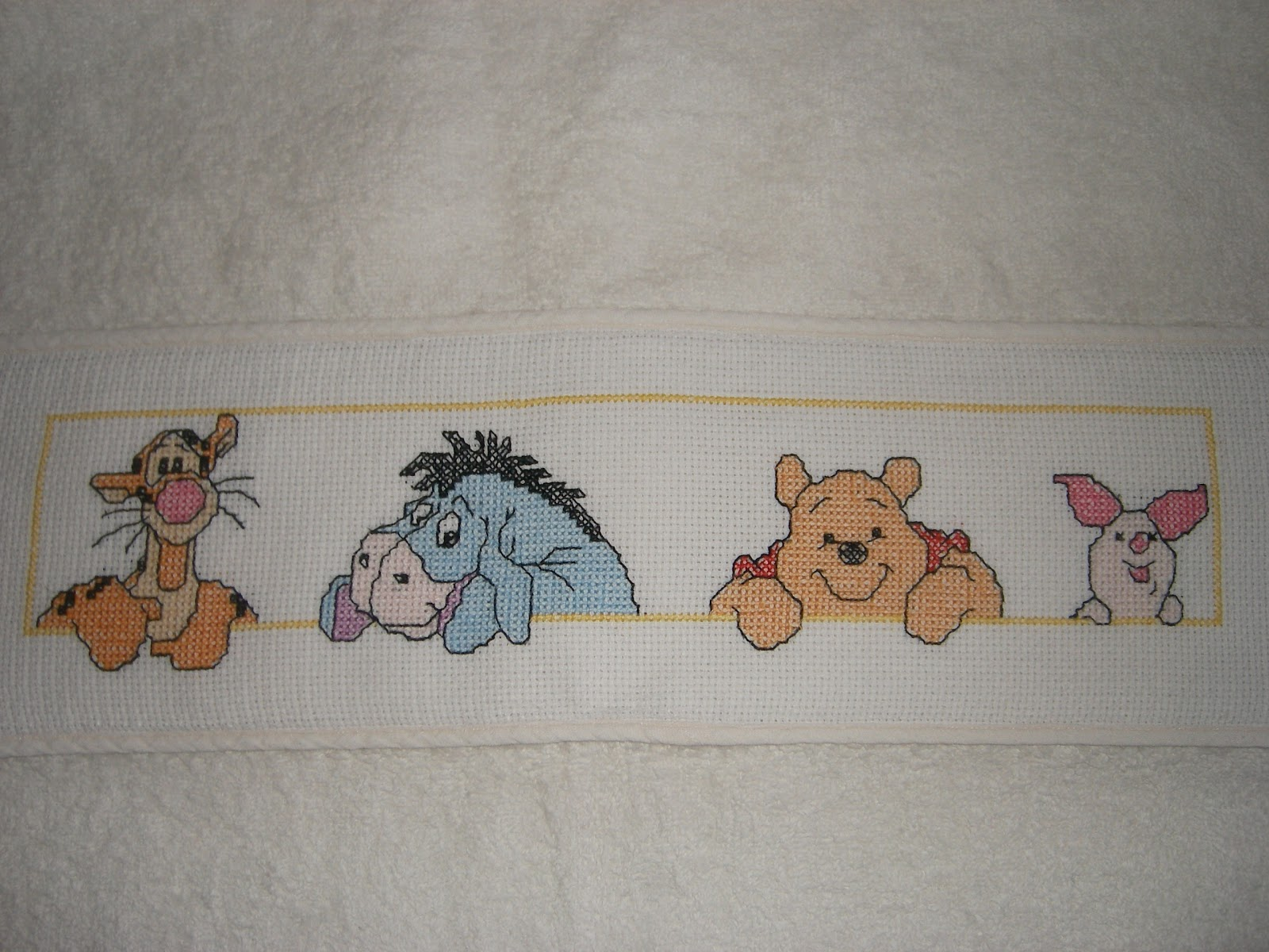 Punto croce lavori a punto croce melita 2 for Winnie the pooh punto croce schemi