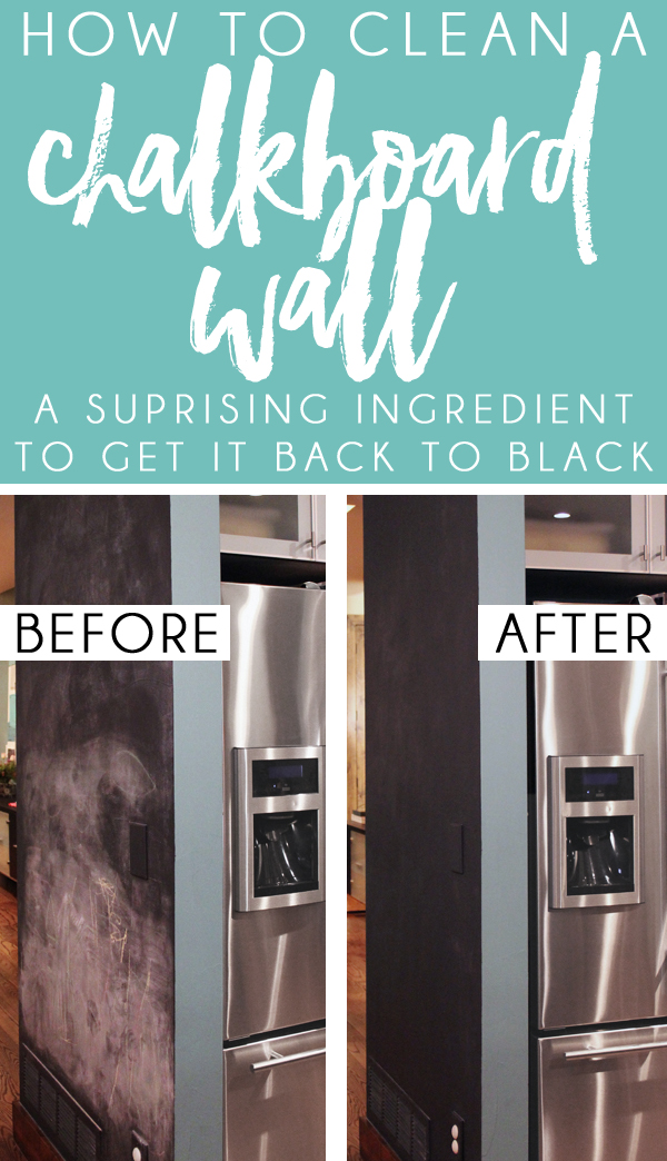 Five Minute Friday How To Get Your Chalkboard Wall Back To