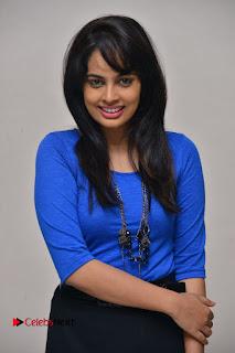 Actress Nandita Swetha Stills in Black Mini Skirt at Ekkadiki Potavu Chinnavada Movie Special Show  0043.JPG