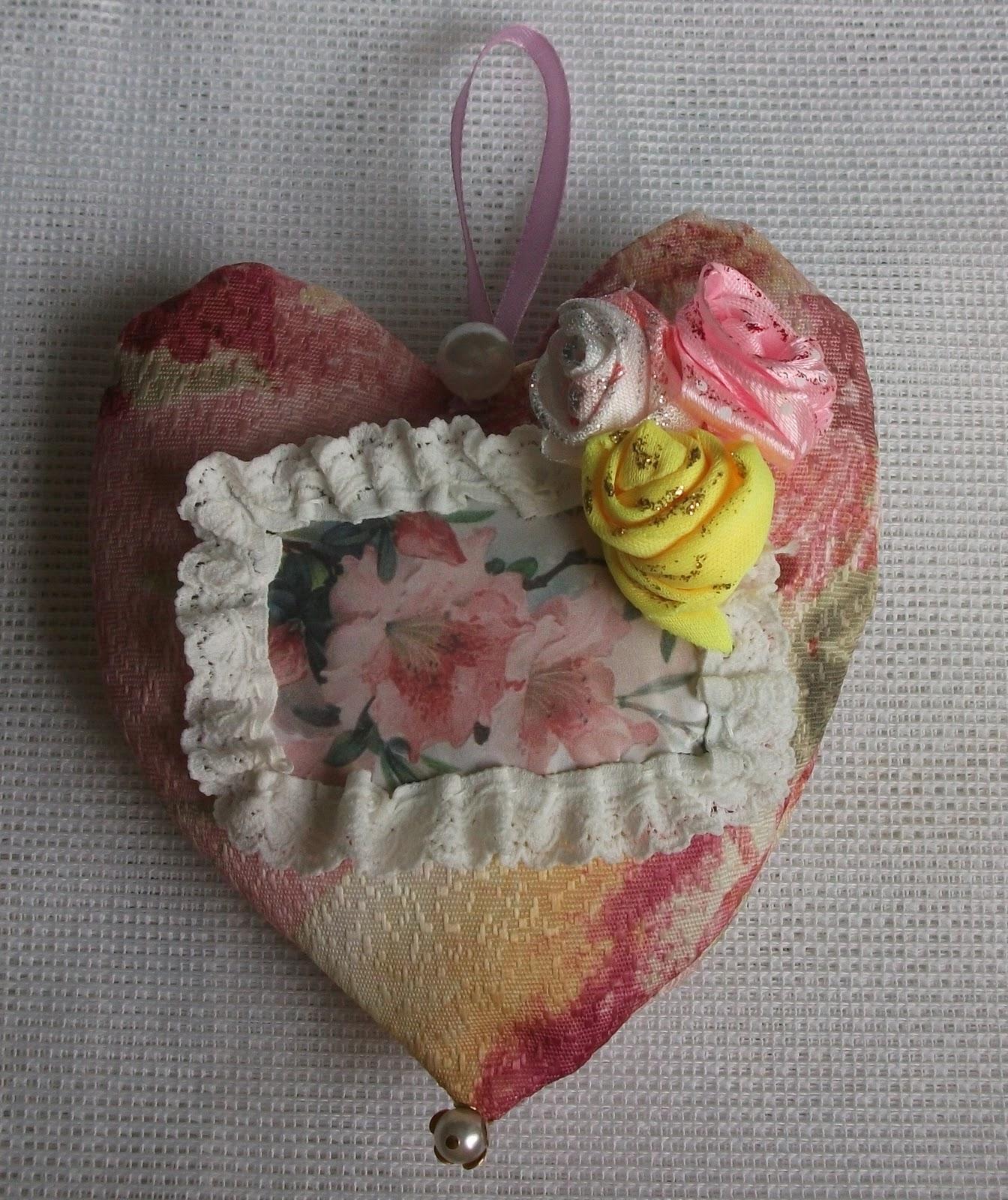 Мягкое сердце своими руками