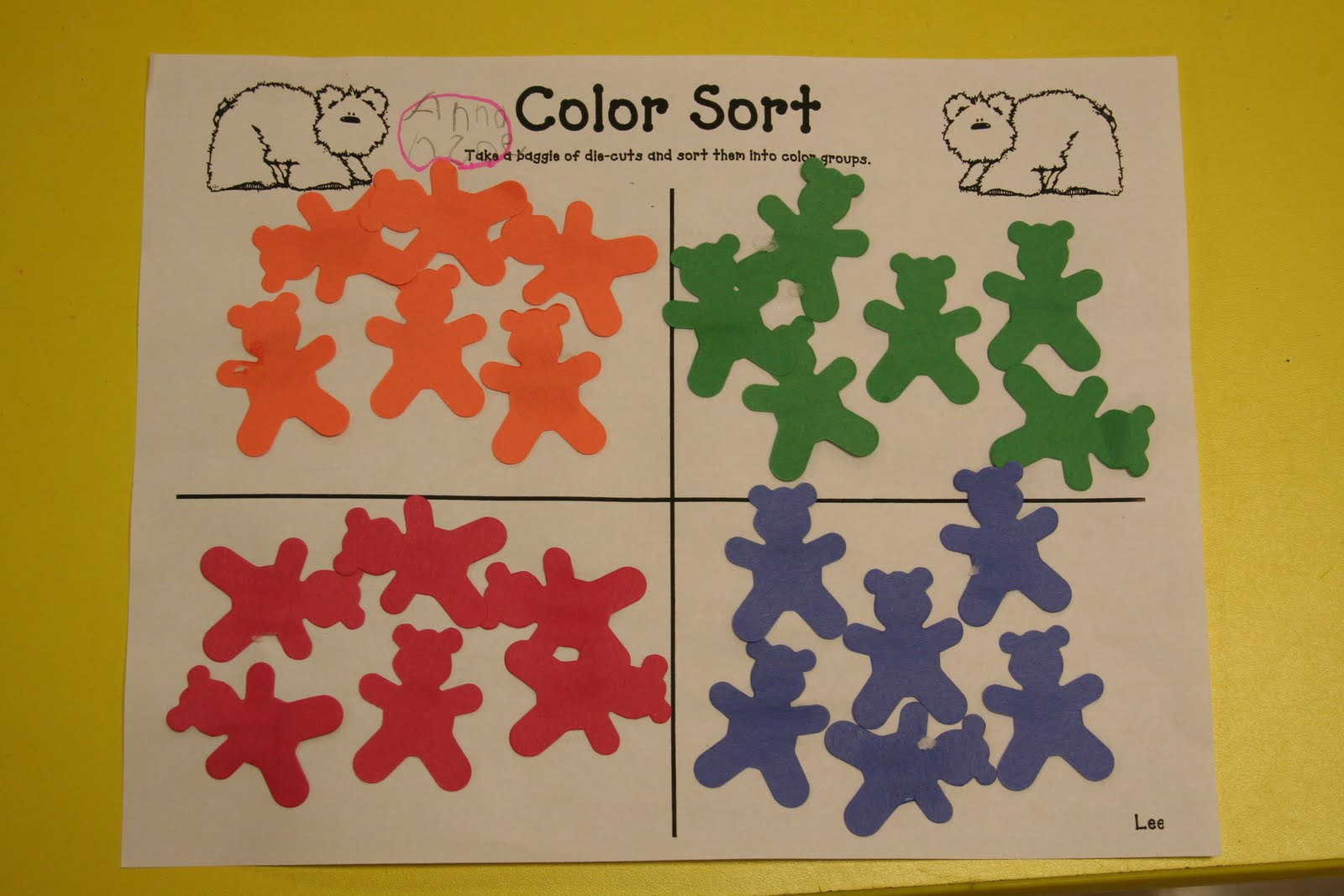 Mrs Lee S Kindergarten More Brown Bear Fun And Lots Of