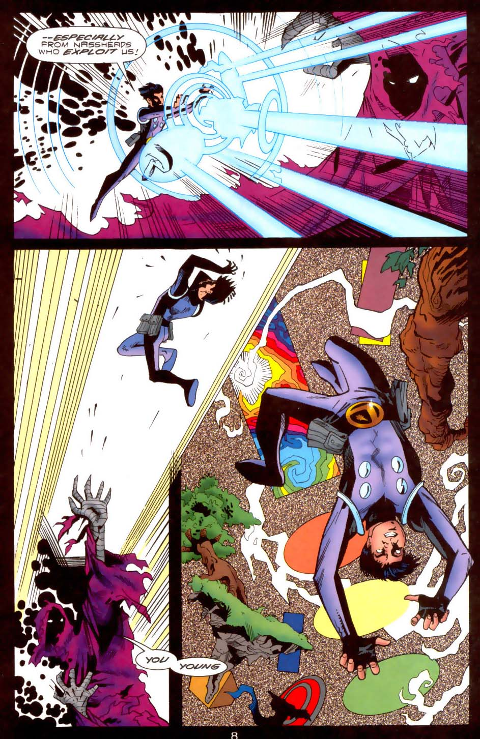 Legion of Super-Heroes (1989) 108 Page 7