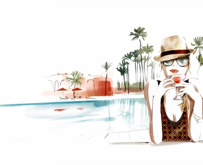 Красивые иллюстрации. Sophie Griotto 17