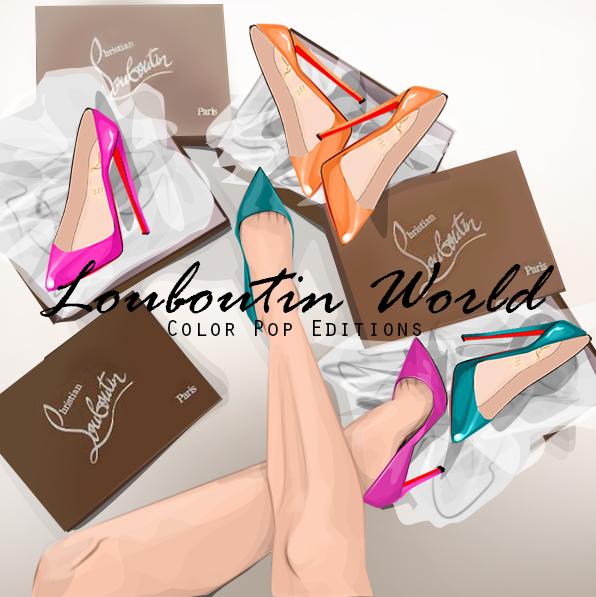 nouveau style b50e5 37372 Louboutin World Shoes : VGNAILS | The Meta Doll