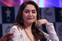 Madhuri Dixit Nene in designer Anarkali Dress at FICCI Awards 2017 055.JPG