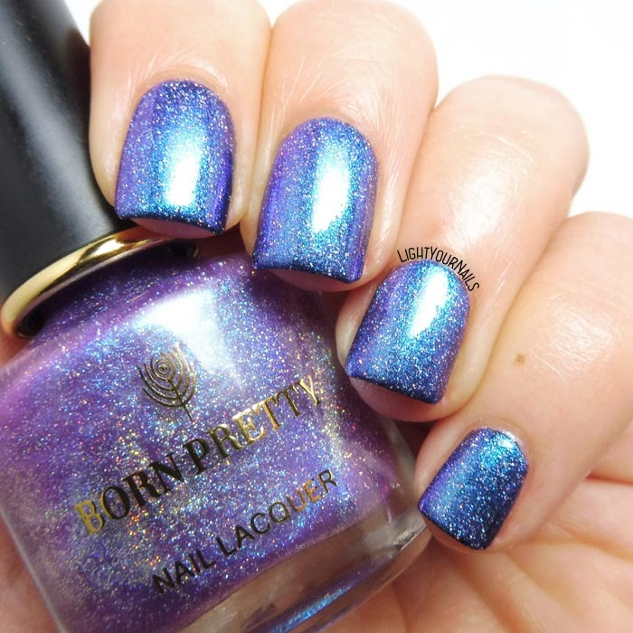 Smalto duochrome olografico Bornpretty 03 Young - Flowers in Sunshine series duochrome holographic nail polish