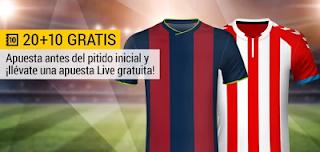 bwin promocion 10 euros Huesca vs Lugo 17 diciembre