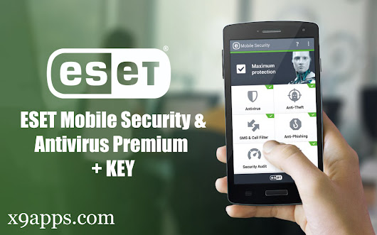 Download ESET Mobile Security & Antivirus Premium Cracked Apk + Key [Free] [LATEST] [2018]