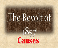 Revolt of 1857 causes
