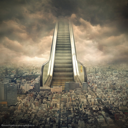 08-Ground-Floor-Even-Liu-Surreal-Photo-Manipulations-and-the-Lantern-www-designstack-co