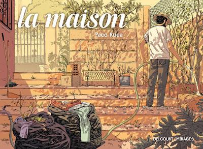 couverture de La Maison de Paco Roca chez Delcourt
