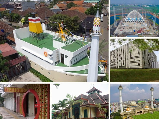 Inilah 15 Masjid untuk Wisata Religi di Bandung Raya
