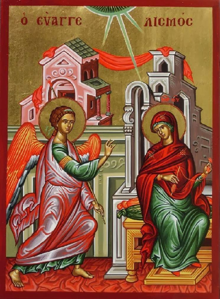 Προσχολική Παρεούλα : Ευαγγελισμός της Θεοτόκου ( ιστορία , κατασκευή  κρίνου )