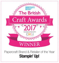 Papercraft Brand & Retailer of the Year
