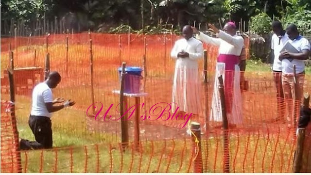 Photo Of Catholic Priest Infected With Ebola As Bishops Pray For Him Afar