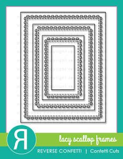 lacy scallop frame