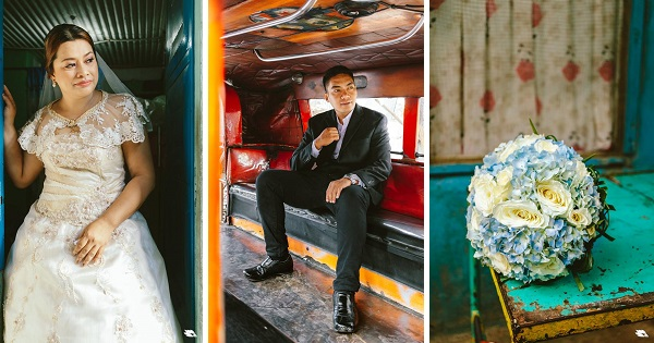 viral wedding photos Gilbert and Fely Joy Paz Ynclino