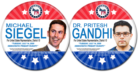 Michael Siegel and Pritesh Gandhi are Democratic Runoff Candidates for U.S. Congress