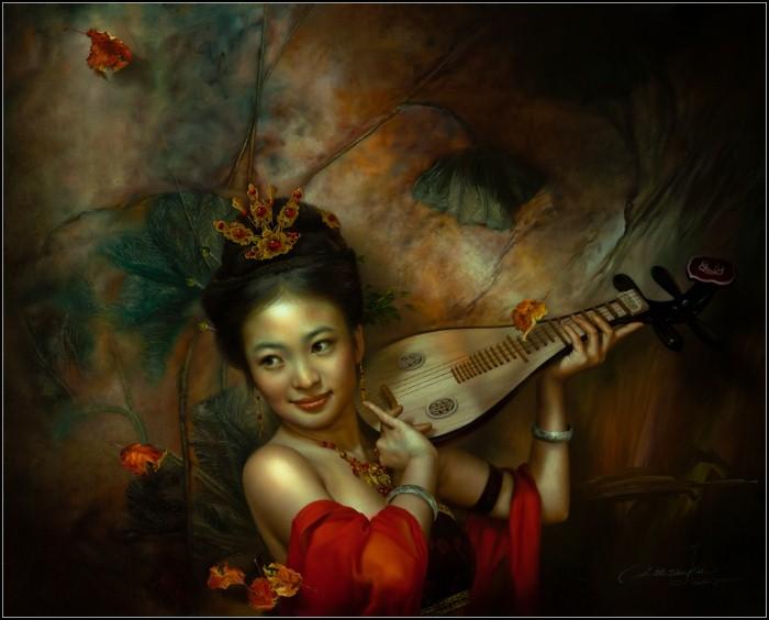 Современный классический реализм. Wang Kun 17