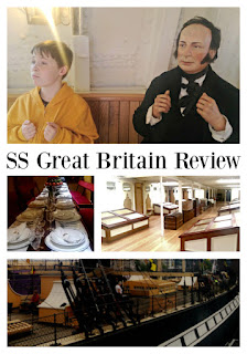 A review of the SS Great Britain, Bristol's top tourist attraction.