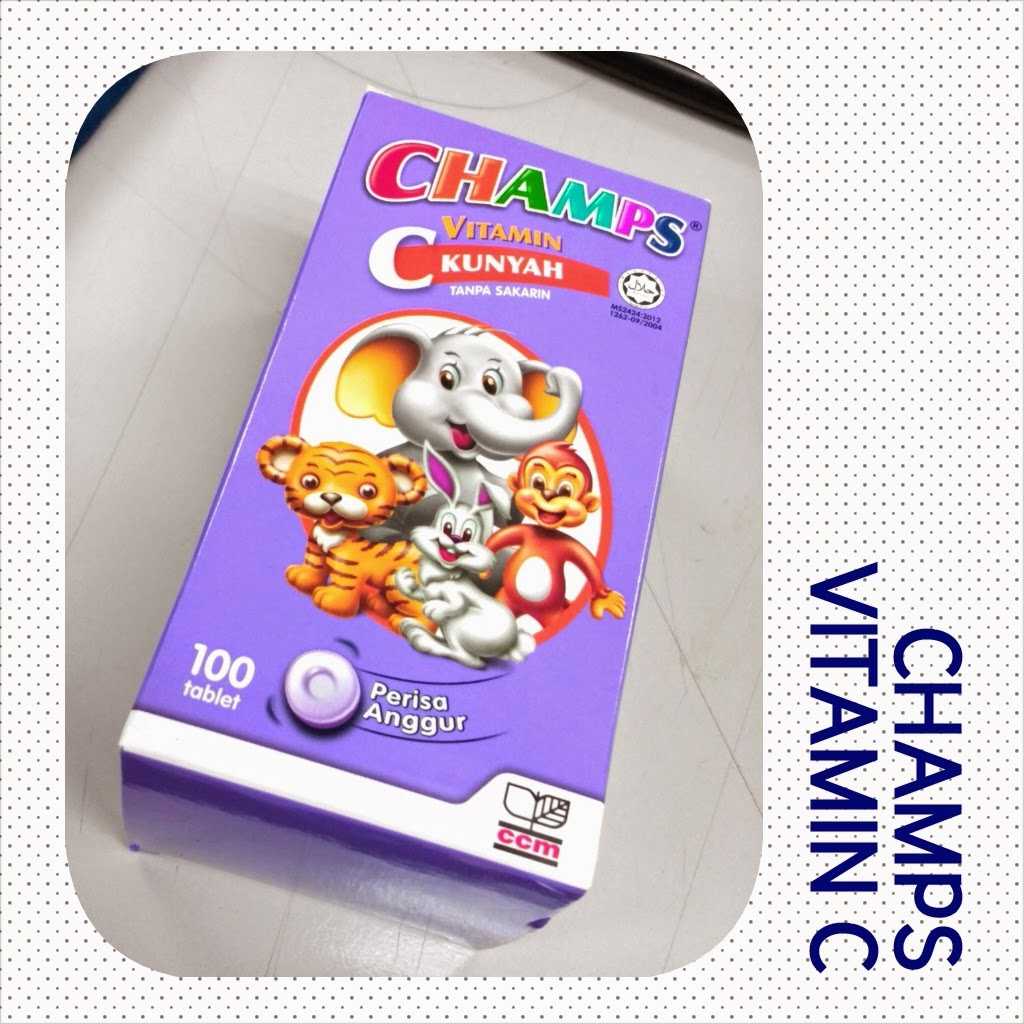 CHAMPS Vitamin C for kids