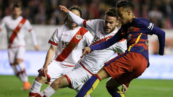 No te pierdas todos los goles del Rayo Vallecano-FC Barcelona