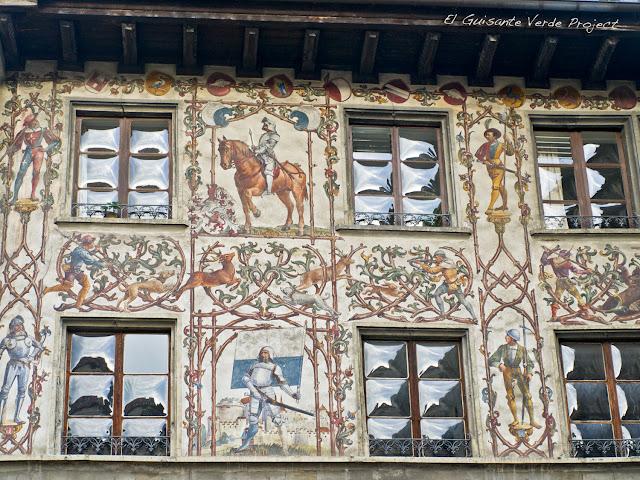 Fachadas Decoradas - Lucerna, por El Guisante Verde Project