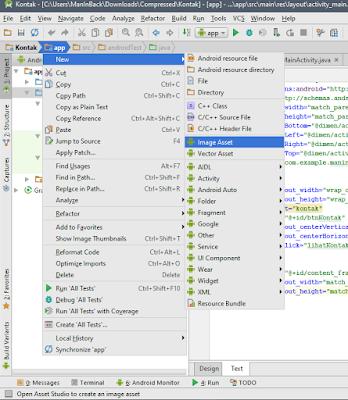 Cara membuat Icon Aplikasi Android
