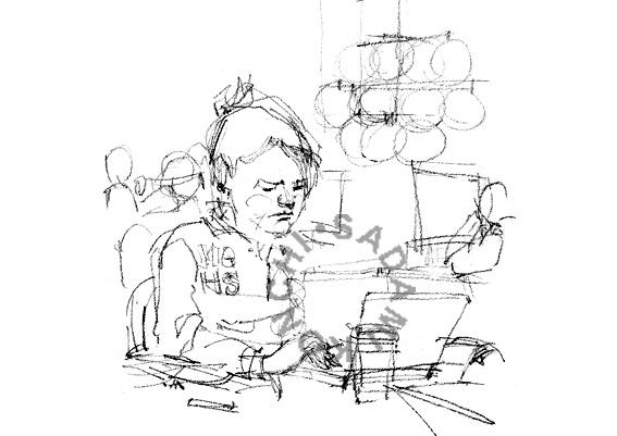 Sadamis Graffiti 貞美の落書 1background Study 2 Caricature