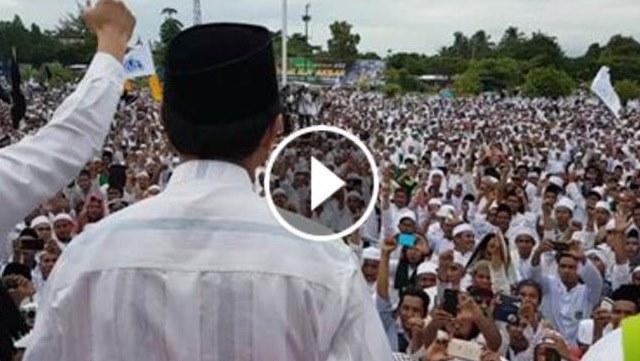VIDEO: Beginilah Antusiasme Umat Muslim Di Lombok Saat GNPF MUI Lakukan Safari Dakwah