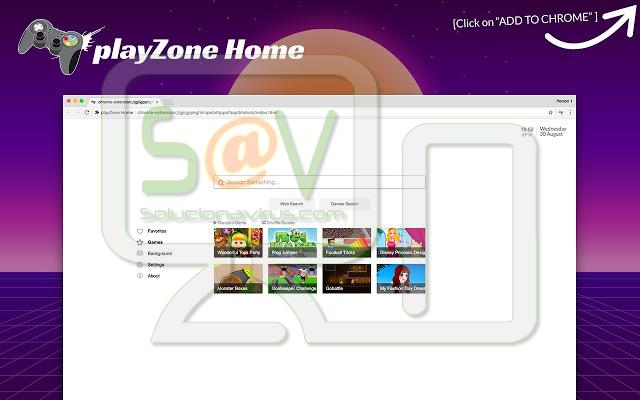 PlayZone Home (Extensión)