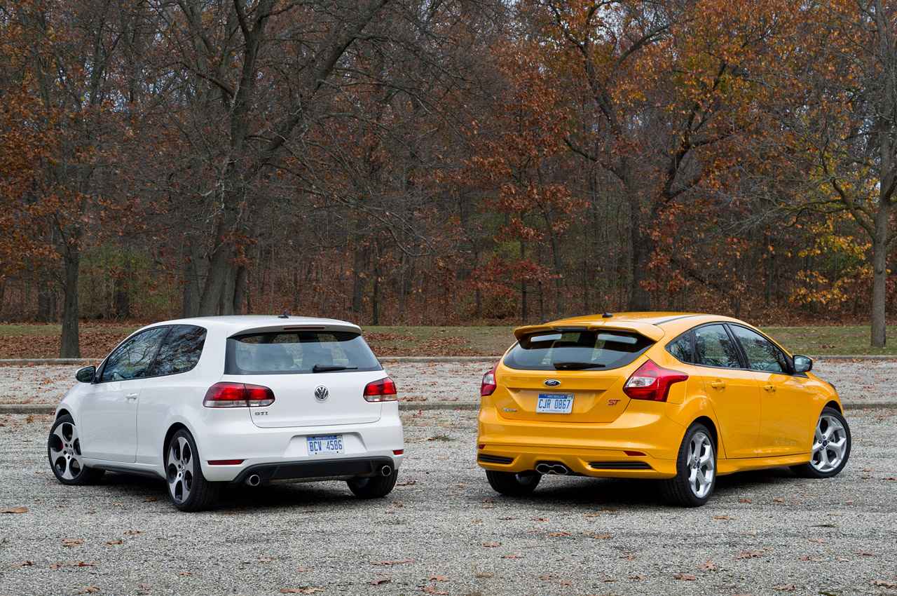 2013 ford focus st vs 2012 volkswagen gti we obsessively cover the auto industry. Black Bedroom Furniture Sets. Home Design Ideas