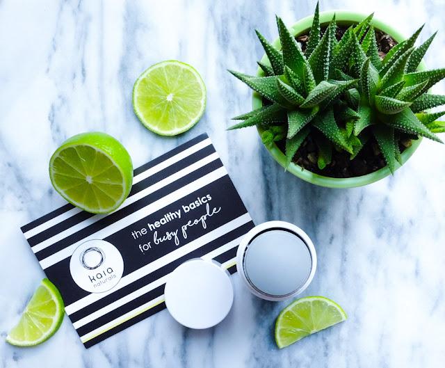 Lime mint takesumi detox deodorant from Kaia Naturals