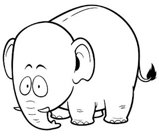 The Latest Of Big Baby Elephant Coloring Sheet Images