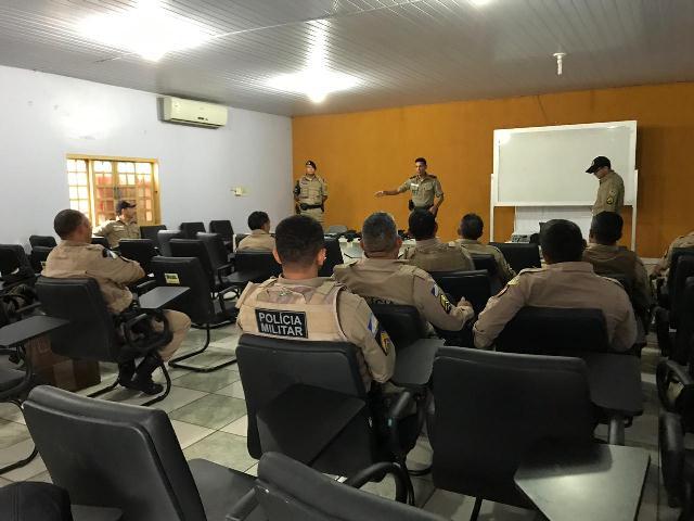 Comando do 9º BPM dá início curso de Tiro Policial aos policiais militares da Unidade